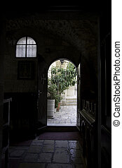 Jerusalem street travel on holy land - Holy land peace and...