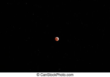 lunar eclipse, winter solstice 2010 - Total lunar eclipse on...
