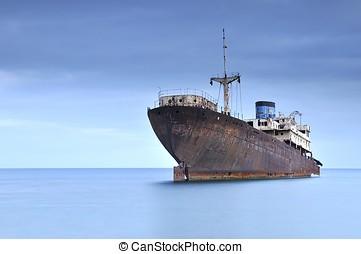Ship. - Ghost Ship.