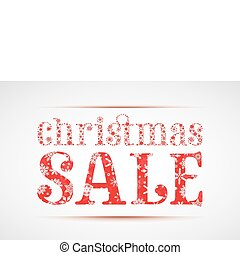christmas sale - christmas SALE banner made from little...