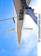 supersonic aircraft Tupolev TU-144 - supersonic aircraft...