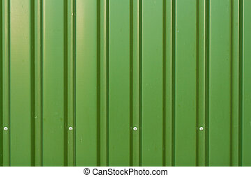 Metal panels - Green metal panels texture
