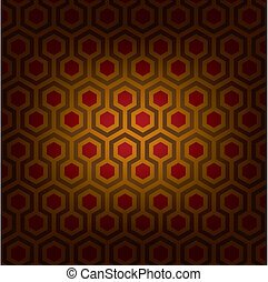 Abstract vector illustration of classical traditional artistic pattern. Ideal graphic for background, pattern or texture design.