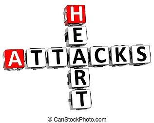 3D Heart Attacks Crossword