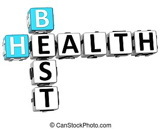 3D Best Health Crossword