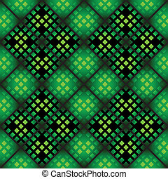 Seamless mosaic pattern - Seamless mosaic casino pattern in...