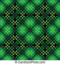 Seamless mosaic pattern - Seamless mosaic casino pattern in...