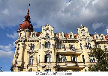 Poland - Bydgoszcz, city in Kuyavia Kujawy region Old town...