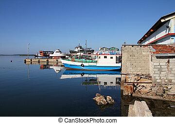 Cuba - Cienfuegos harbor - Harbor in Cienfuegos, Cuba....