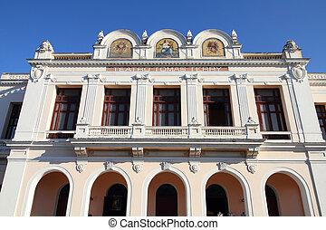 Cienfuegos, Cuba - Theater Tomas Terry building in...