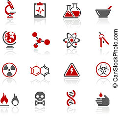 Science Icons Redico - Vector icons for your website or...