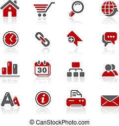 Web Site and Internet Redico - Vector icons for your website...