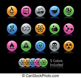 Science / Gelcolor - The EPS file includes 5 color versions...