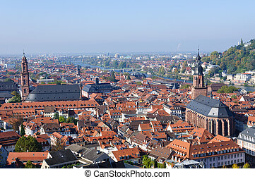 Cityscape of Heidelberg, Germany - Heidelberg is a popular...