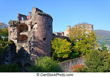Heidelberg Castle in Germany - The Heidelberg Castle is a...