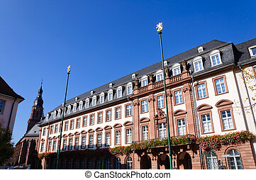 City Hall of Heidelberg, Germany - Heidelberg is a popular...