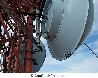 Broadband antenna - The communication system on the high...