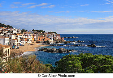 Calella de Palafrugell (Costa Brava, Spain) - The beautiful...