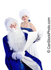 Father Frost and snow maiden - Father Frost (russian...