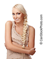 Lady with braid