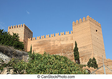 The Alcazaba of Almeria, Spain