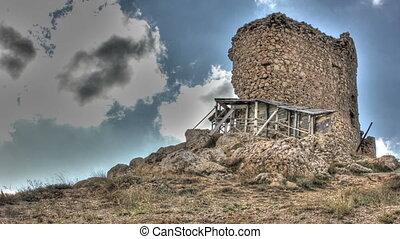 Castle ruins HDR