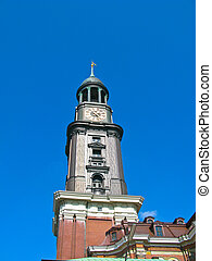 St. Michaelis church (known has Michel) in Hamburg, Germany....