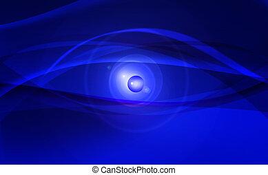digital blue eyes