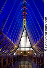Chaple - Inside the airforce academy chaple
