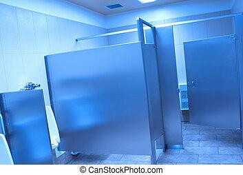 Public washroom stall