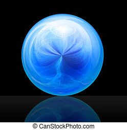 magic ball blue