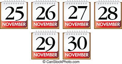 November diary