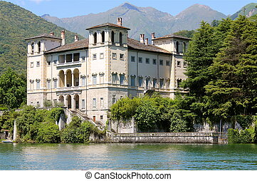 Palazzo Gallio Gravedona Lake Como - Palace Gallio in...
