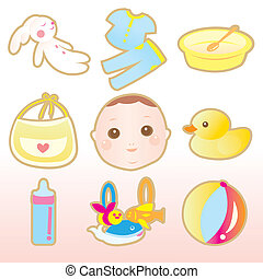 baby cute elements