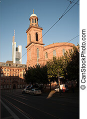 Paulskirche in Frankfurt, first parlament in germany