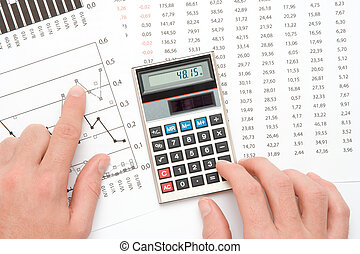Business analysis - Concept of business analyst - hand with...