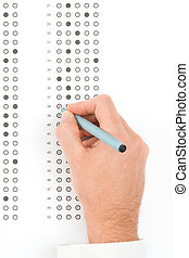 School exam - Student complete the questionnaire - school...
