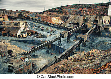 Abandoned copper, gold and silver - Abandoned mines of...