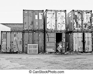 Shipping containers - Shipping container used for cargo...