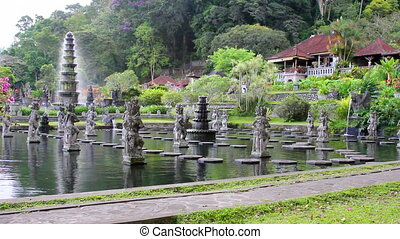 Tirta Gangga water palace on Bali