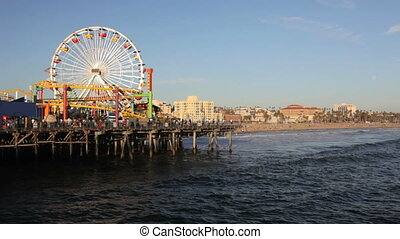 Santa Monica Pier - Beach at Santa Monica Pier