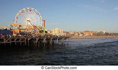 Santa Monica Pier - Beach at Santa Monica Pier