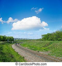 railroad to horizon