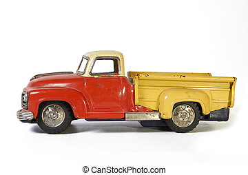 toy pickup truck - old toy car