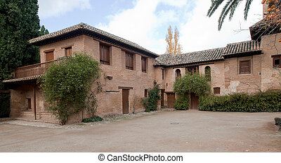Alhambra el Partal - Partal houses in Alhambra The Partal is...