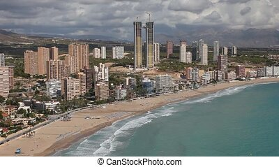 Benidorm, Spain - Mediterranean resort Benidorm, Spain
