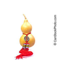 Oriental bottle gourd decoration which represents fortune...