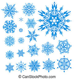 christmas snowflakes icon