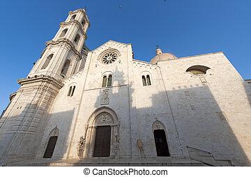 Bitetto (Bari, Puglia, Italy) - Old cathedral in Romanesque...