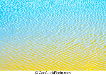 abstract reflection blue water shapes texture background